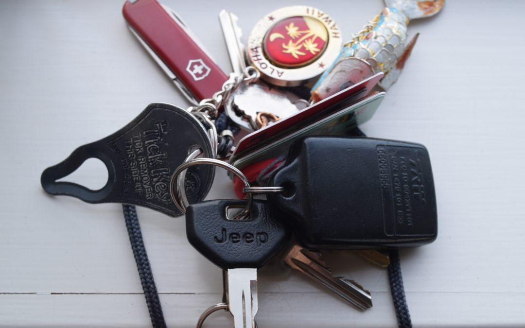 Mein amerikanisches Schlüsselbund